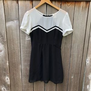Coincidence and Chance, blk & wt skater dress, 2